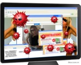 """Nguy cơ nhiễm virus từ """"web đen"""""""